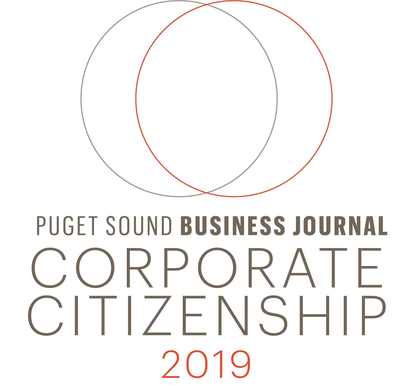 2019 Corporate Citizenship Top Corporate Philanthropist | Puget Sound Business Journal