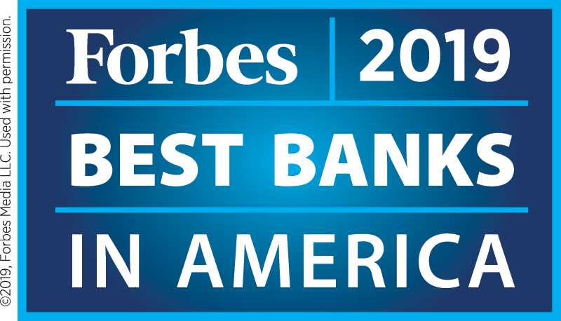 2019 Best Bank in America | Forbes Magazine