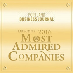 2016 Oregon's Most Admired Companies | Financial Services Award