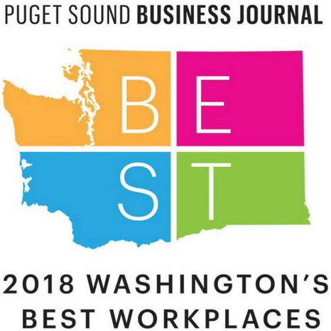 2018 Washington's Best Workplace | Puget Sound Business Journal