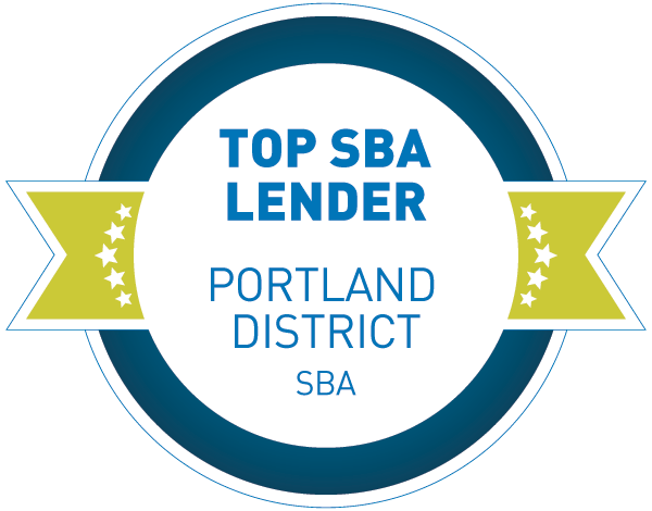 2019 Top Three SBA Lender, Portland District | Small Business Administration