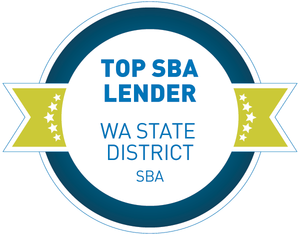 2019 Top Three SBA Lender, WA State District | Small Business Administration