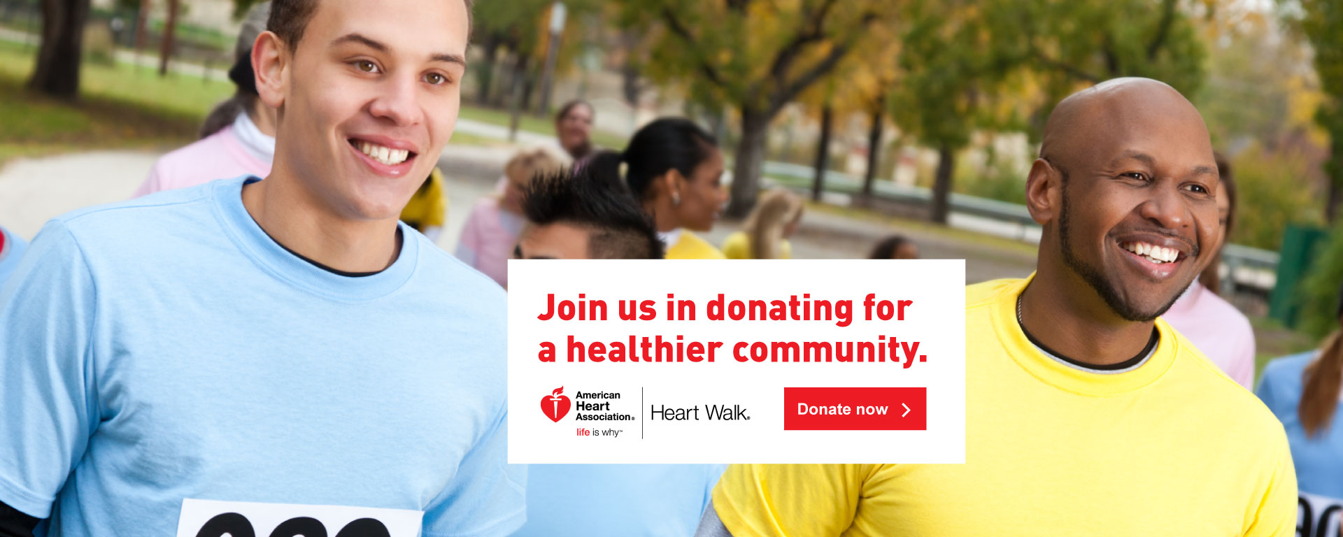 American Heart Association - HeartWalk Drive