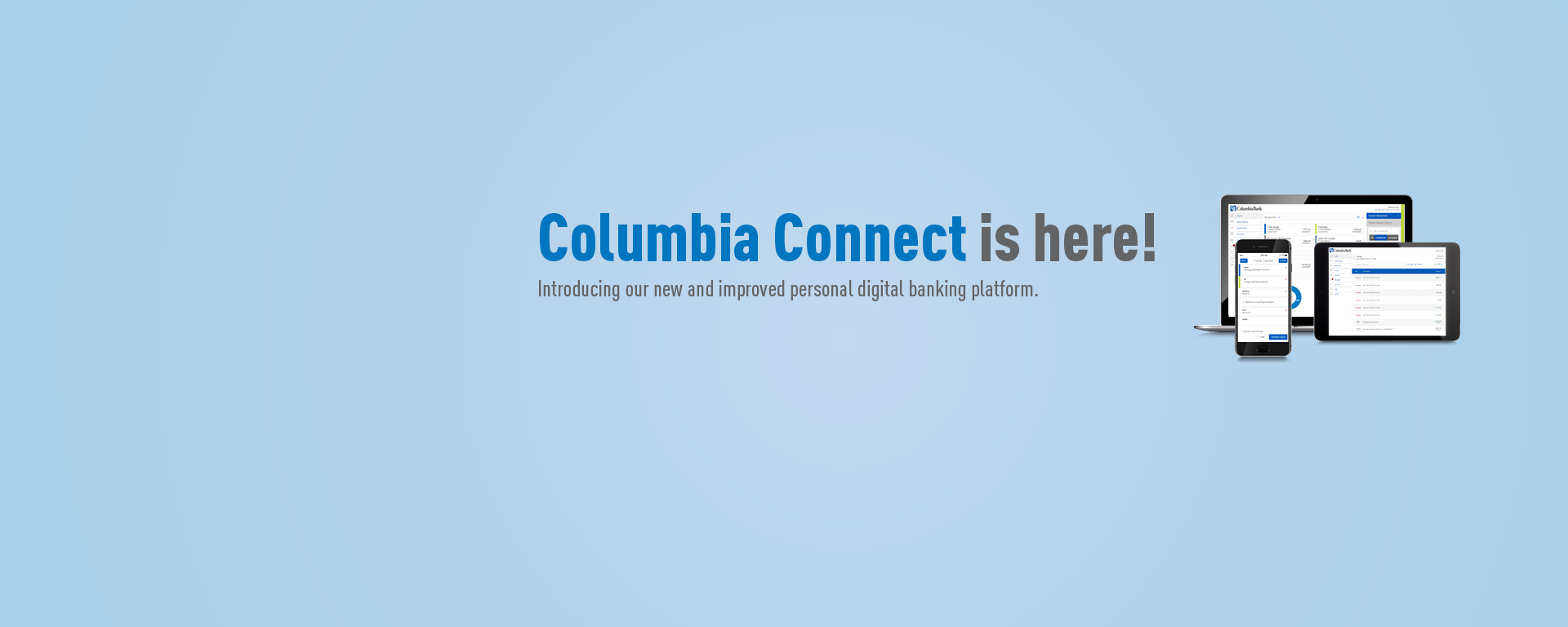 Columbia Connect is here