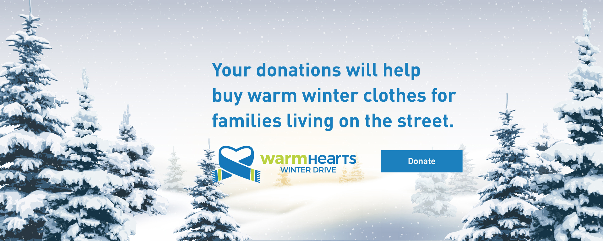 Donate to Warm Hearts Winter Drive