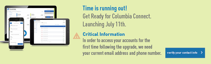 Get Ready for Columbia Connect