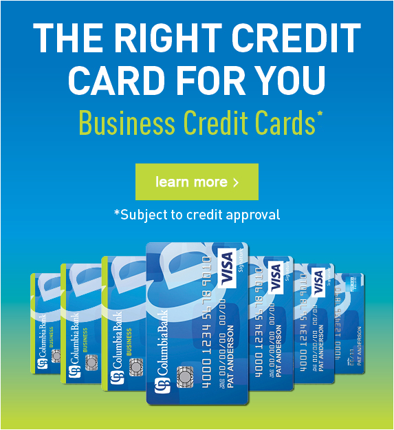 THE RIGHT CREDIT CARD FOR YOU