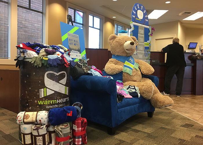 Warm Hearts Winter Drive | Columbia Bank